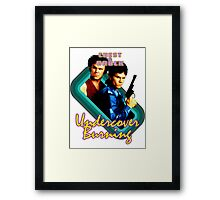 Brock and Chest- Undercover Burning Framed Print