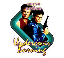Brock and Chest- Undercover Burning Photographic Print