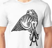 Buffy- angel's tattoo (black) Unisex T-Shirt