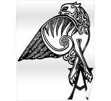 Buffy- angel's tattoo (black) Poster