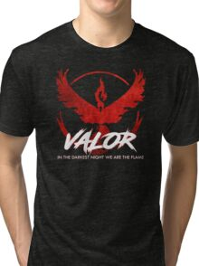 Team Valor - Crush Rush Tri-blend T-Shirt