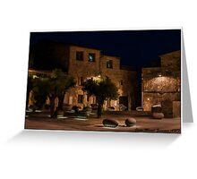 plaza les olives Greeting Card