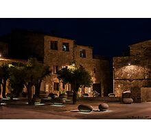 plaza les olives Photographic Print