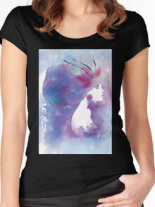 Celestial SOUL Women's Fitted Scoop T-Shirt