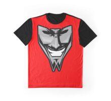 DAETRIX smiling mask Graphic T-Shirt