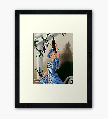 To the Stage Framed Print