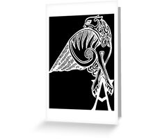 Buffy the Vampire Slayer - Angel's Tattoo (white) Greeting Card