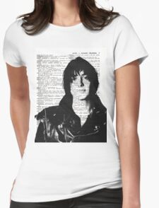"Julian Casablancas - The Strokes ""Acoustic Vibrations"" Womens Fitted T-Shirt"