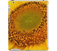 middle of sunflower iPad Case/Skin