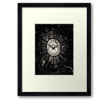 The Holy Spirit as a dove Framed Print