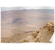 Israel, Negev, The Ramon Crater,  Poster