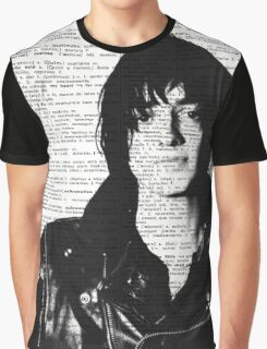 "Julian Casablancas - The Strokes ""Acoustic Vibrations"" Graphic T-Shirt"