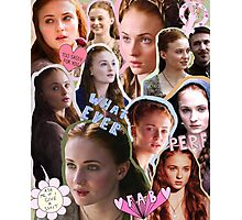 Sansa Stark, practically perfect in every way Photographic Print