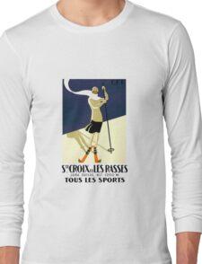 Ski Fashion Long Sleeve T-Shirt