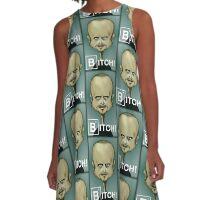 BITCH!!!! A-Line Dress