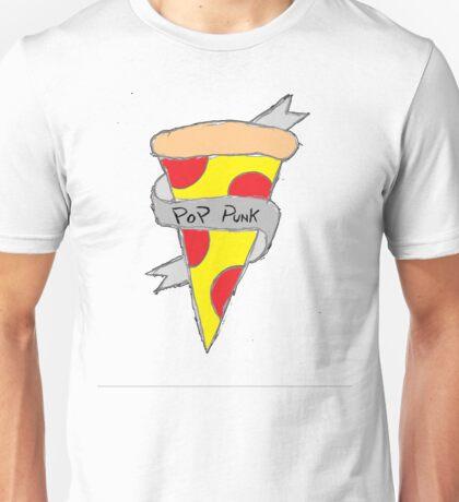 Pop Punk Pizza Unisex T-Shirt
