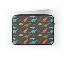 Dinosaurs silhouettes Laptop Sleeve