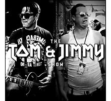 The Tom And Jimmy Show (Back2Back Design) Photographic Print