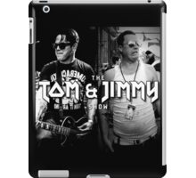 The Tom And Jimmy Show (Back2Back Design) iPad Case/Skin