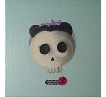 Rosie Skull Photographic Print