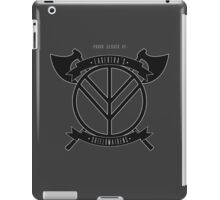 Lagertha's shieldmaidens iPad Case/Skin
