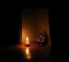 Book is candle by Achraf Baznani