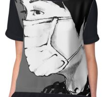 Insecurity Mask Chiffon Top