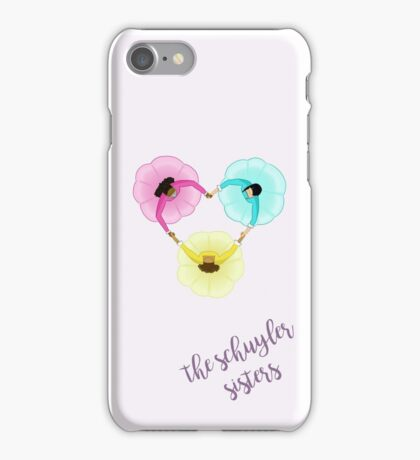 Schuyler Sisters Heart iPhone Case/Skin