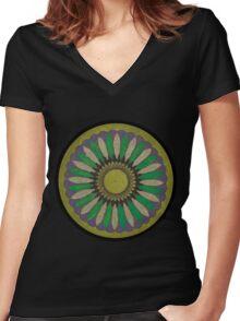 Spiro_004 Women's Fitted V-Neck T-Shirt