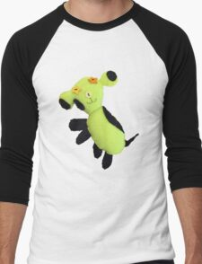 Spot the playful dog Men's Baseball ¾ T-Shirt
