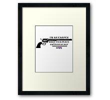 Wynonna Earper Framed Print