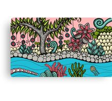 Tree of Life - Fantastical Garden Canvas Print