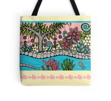 Colourful Tree of Life Tote Bag