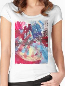 Surrounded, 2014 Women's Fitted Scoop T-Shirt