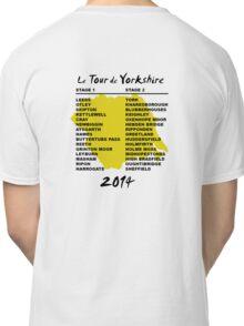 Le Tour de Yorkshire 2014 Back Classic T-Shirt