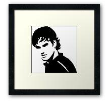 Roger Federer - No Bandana (Official Genius Banner Design) Framed Print