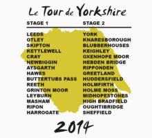 Tour de Yorkshire 2014 Front by Andy Farr