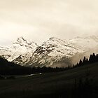 Lechtal Alps by heinrich