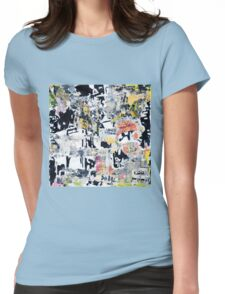 New York Streets No#5 Womens Fitted T-Shirt