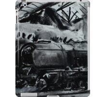 Steam Train Snow Hill Station Birmingham England Charcoals iPad Case/Skin