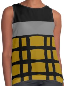 Styling With Gold, Silver And Black Contrast Tank