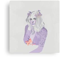 #35R Sue Ramirez Canvas Print