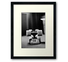 Black&White Penny Like Framed Print