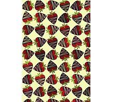 Chocolate Covered Strawberries Photographic Print