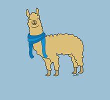 Llama wearing Scarfs Unisex T-Shirt