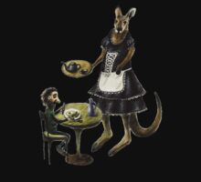 Kangaroo cafe One Piece - Long Sleeve