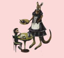 Kangaroo cafe Baby Tee