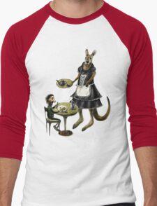 Kangaroo cafe Men's Baseball ¾ T-Shirt