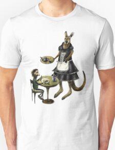 Kangaroo cafe Unisex T-Shirt