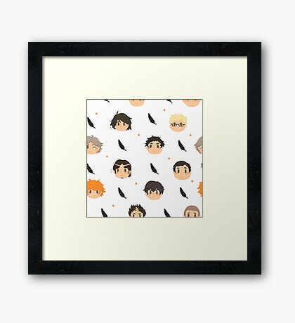 Family of Crows Framed Print